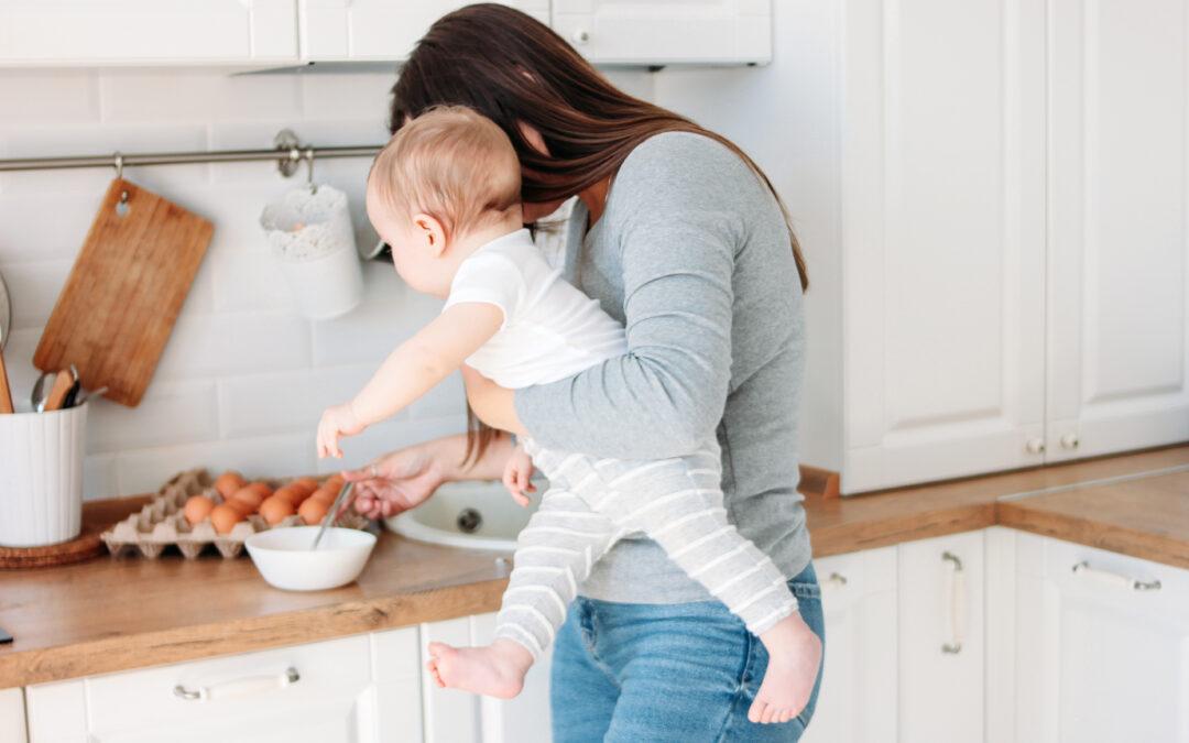 Zeitmanagement für Baby-Mamas: So organisierst du dich, damit das Kochen auch mit Baby klappt