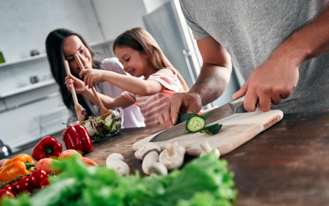 Gesunde Familienküche im Ausnahmezustand
