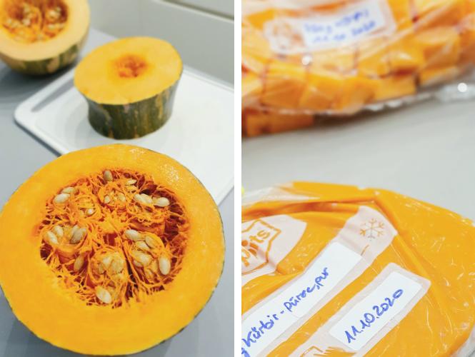 Kürbis Meal Prep für Familien – vorbereiten, aufbewahren, zeitsparend kochen