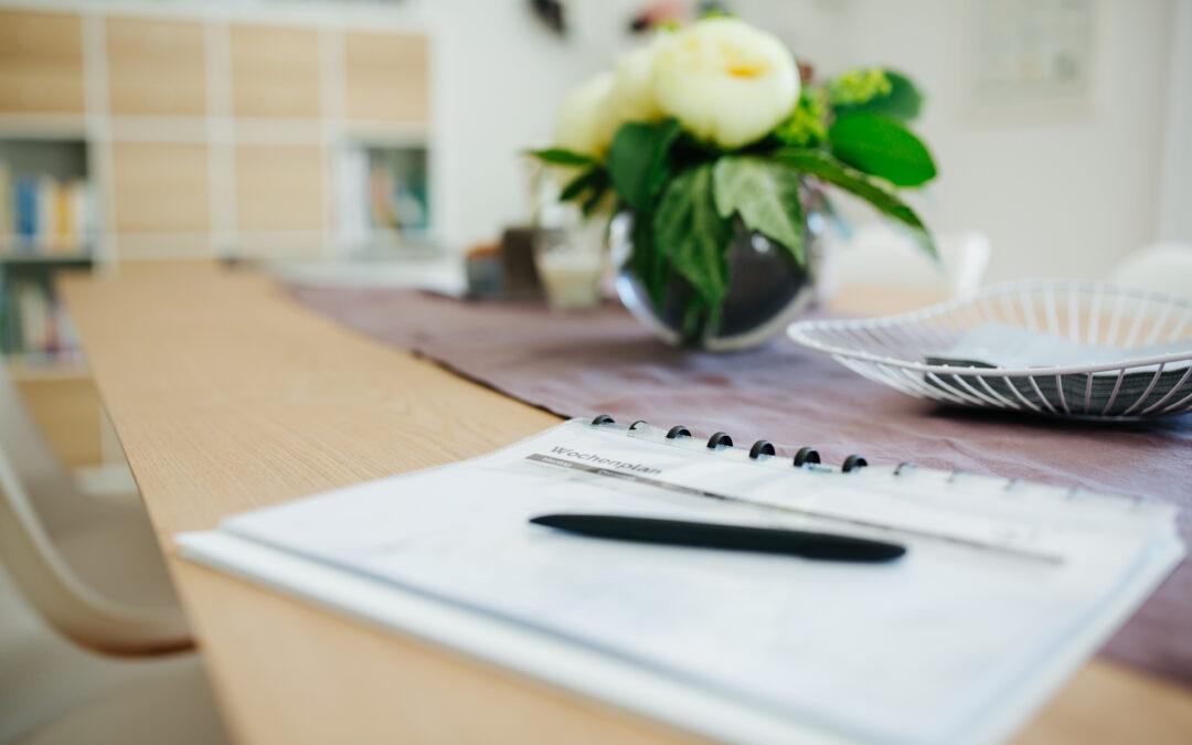 Du brauchst einen Wochenplan! 5 gute Gründe für Planungsmuffel